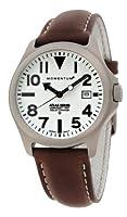 Momentum ATLAS 1M-SP00W2C - Reloj analógico de cuarzo para hombre, correa de cuero color marrón de Momentum