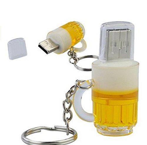 Jingyuu 2 gb/4 gb/8 gb/16 gb/32 gb u disk a forma di bottiglia di birra, una chiavetta usb 2.0 usb creative stick storage memory stick 16gb 16gb 16gb
