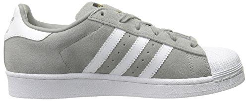 Adidas Originals Superstar Chaussures en daim, collégial Navy / blanc / collégiale marine, 4 M Us CHSOGR-FTWWHT-CHSOGR