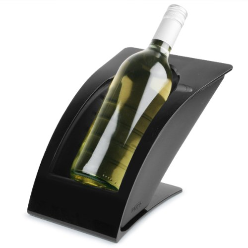 Weinkühler / Champagnerkühler / Flaschenkühler WICE, schwarz