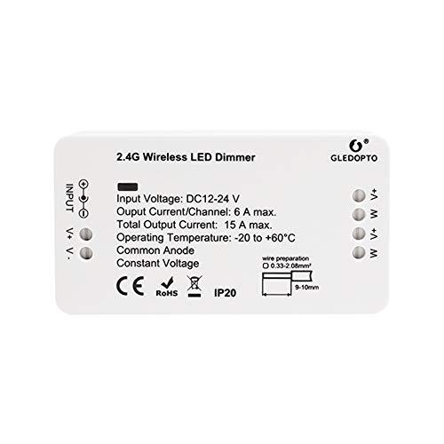 ZigBee Dimmer Led Controller Steuergerät Treiber Dimmaktor Vorschaltgerät Kompatibel 12-24 Volt Weiße Warmweiße Kaltweiße Neutralweiße LED Stripes Bänder