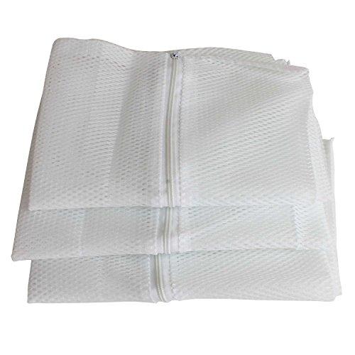 3er Set Wäschnetz für Feinwäsche und empfindliche Materialien, feinmaschig, Schuhbeutel Waschmaschine GP00583