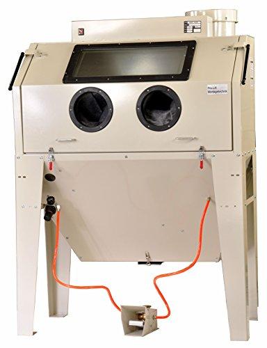 Pro-Lift-Montagetechnik Sandstrahlkabine 420 Liter inkl Zubehör, B42ABJ, mit eingebauter Absaugung, 01560