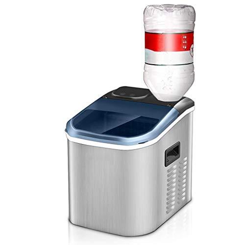 Tragbare Eismaschine für Arbeitsplatten, 24 Stunden Eisbereitstellung mit LED-Anzeige, perfekt für Partys mit gemischten Getränken, mit herausnehmbarer Eisbox (Eis-maschinen-reiniger)