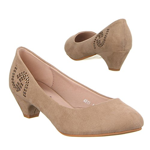 Damen Schuhe, AB15, PUMPS Hellbraun