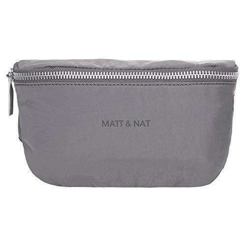 Matt & Nat WIK Vegan Damen Waist Bag Grau - Nat Handtaschen Matt