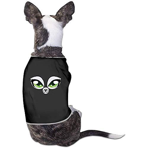 Frederih Katzengesicht mit Spaß schöne Hund Katze Shirt Kostüm Haustier Sport Kleidung Pullover Welpe warme T-Shirt Outfit Tops (Spaß Einfache Gruppe Kostüm)