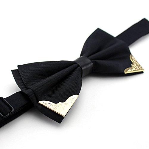Gentlee tieuomini versione coreana di phnom penh, eleganti e di stile il filtro bow tie sia il business lo sposo matrimonio tirante di qualità per i fiori di colore rosso scuro