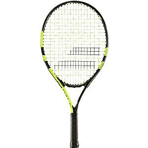 Babolat Nadal-23 Strung Tennis Racquet, Kids (Black/Yellow)