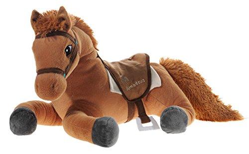 Bibi & Tina 637870 Plüschtier, Pferd, braun - Stofftier Großes Pferd