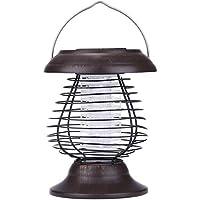 RZL LED Lights 0.3W Solar Powered UV Bug Zapper Repellente parassiti  Insetto Mosquito Killer LED 1fc76bc498e
