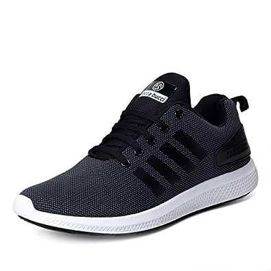 Bacca Bucci Men's Black Running Shoes-UK6 (EU40) (BBMG8129A-06)