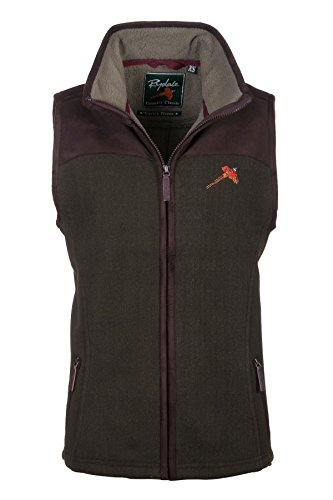 Rydale -  Gilet  - Donna Deep Red