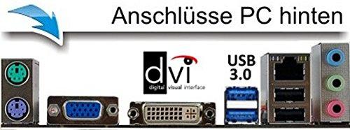 Entry Gaming / Multimedia COMPUTER mit 3 Jahren Garantie! | Dual-Core! AMD A6-5400K 2 x 3800 MHz | 8192MB DDR3 | 320GB S-ATA II HDD | AMD Radeon HD 7540D 4096 MB DVI/VGA mit DirectX11 Technology | USB3 | FM2+ Mainboard | 6 USB-Anschlüsse | Windows10 Professional 64-Bit | GDATA Internet Security | #5290 - 3
