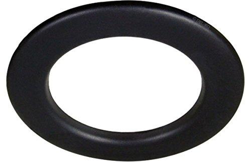 Abdeckblende - für die LED Einbaustrahler 10W IP44 230V (rund schwarz) -