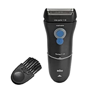 Ergonomic Design Braun Series 1-130 Electric Shaver That Give You an Efficient Shave