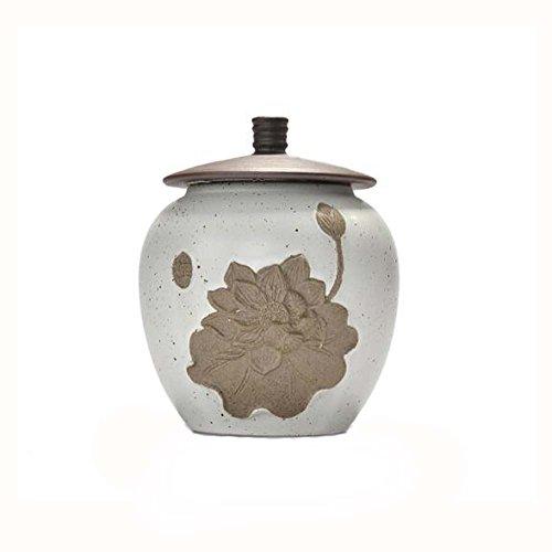 Chinesische Keramik Tee Gläser Kaffee Dosen Lagerung Weiß