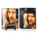 Sony Playstation 3 3 Design Skin Folie Aufkleber zweiseitig - Herr der Ringe - Motiv 3
