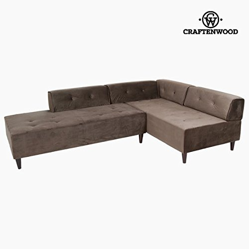 Chaiselongue grau ceos by Craftenwood -