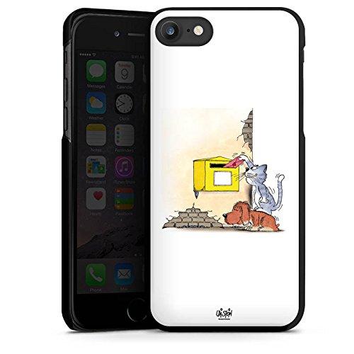Apple iPhone X Silikon Hülle Case Schutzhülle Uli Stein Fanartikel Merchandise Cartoons Hard Case schwarz