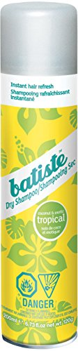 Batiste Shampoo, Champu Seco Tropical, 200 ml