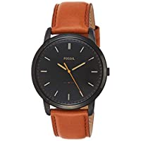 Fossil Casual Gents Wrist Watch, Brown