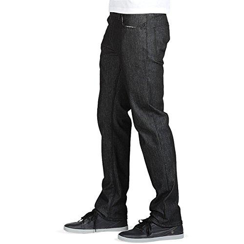 Volcom Nouvelle Solver gène S Jeans pour hommes Sgene Black