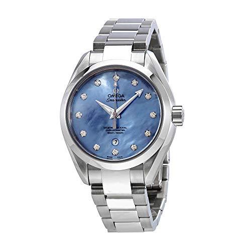 Omega Seamaster Aqua terra lavanda madreperla quadrante orologio da donna 231.10.34.20.57.002