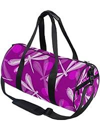 Hunihuni - Bolsa de Deporte para Mujer (diseño de libélula de Acuarela)
