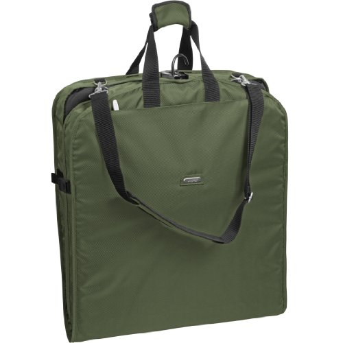 wallybags-42-inch-shoulder-strap-garment-bag-olive-one-size