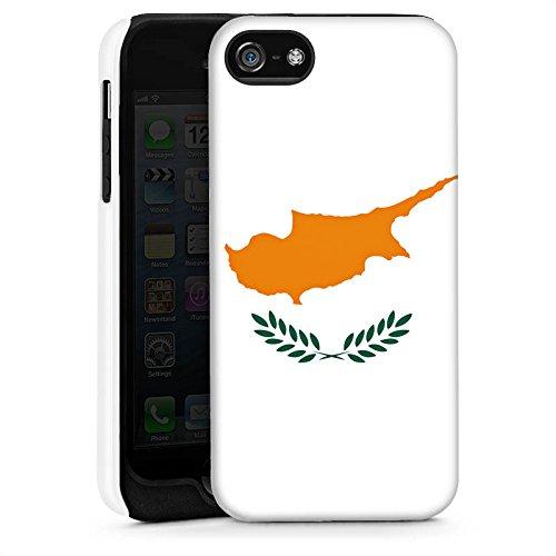 Apple iPhone 6 Housse Étui Silicone Coque Protection Chypre Drapeau Drapeau Cas Tough brillant