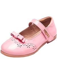 Muchachas Escuela Zapatos niña Uniforme Mary Jane Zapato de vestir de paseo plano casual