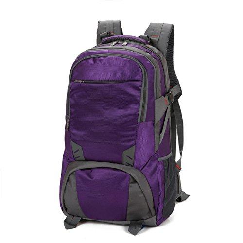Zaino Da Esterno Borsa Da Viaggio Di Grandi Dimensioni Borsa Da Viaggio Borsa Da Viaggio Borsa Impermeabile Baggage Bag,UpgradedVersionOfDeepPurple80Liters SmallPurple