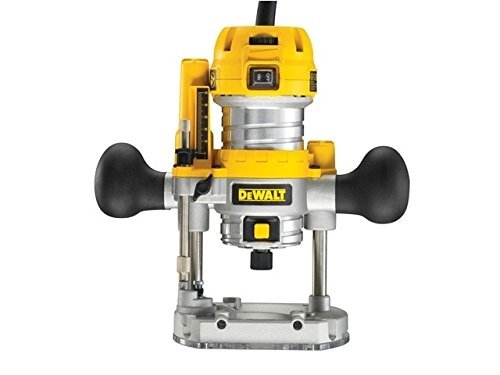 Advanced DeWalt D26203 1/4in 8mm Plunge Routers Variable Speed **