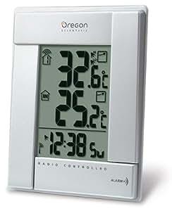 Oregon Scientific RMR 382 Funkthermometer silber