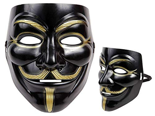 Piccoli monelli maschera anonymous nera vendetta v anonimo originale