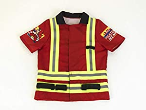 Theo Klein Firefighter henry disfraz de bombero, color rojo, única (8904)
