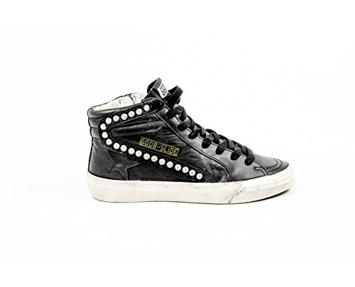 Golden Goose Womens High Sneaker G25D124 F4 Black