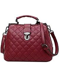 Femnmas Fancy Stylish Elegant Women Red Leather Party Sling Bag For Women / Girls