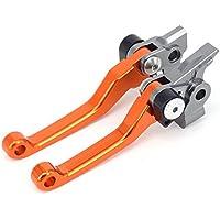 JFGRACING CNC Palancas de embrague de freno plegables para 350 450 SX SXR SXF XCF XCFW