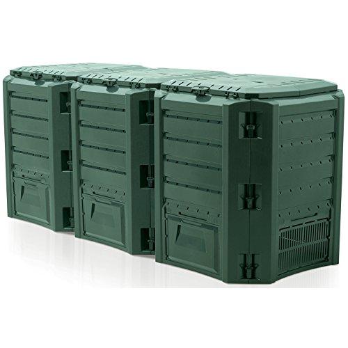 Composter, Waste Bin–Modul Fults Tacho Bin Islanding Laufwerk 1200L