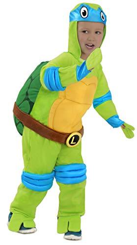 TMNT Teenage Mutant Ninja Turtles Leonardo One-Piece Jumpsuit (April O'neil Kostüm)