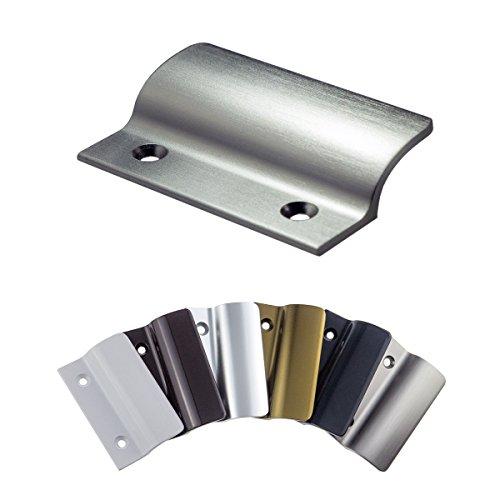 Balkongriff FH-Flach stabiler Ziehgriff aus Aluminium - Edelstahl eloxiert - Balkontürgriff