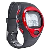 SODIAL(R) Sport Stop Watch Calorie Counter Heart Rate Monitor New