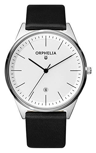Orphelia Herren-Armbanduhr Simplicity Analog Quarz Leder