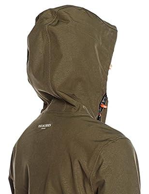 Ilse Jacobsen Women's Slimfit Soft Shell Three Quarter Contrasr Long Sleeve Raincoat