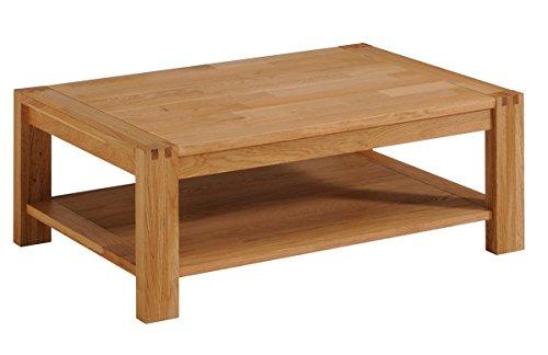 Keo 0603TABA ETHAN SEJOUR Table basse double plateau Chêne/Panneaux E1 105 x 70 x 40 cm