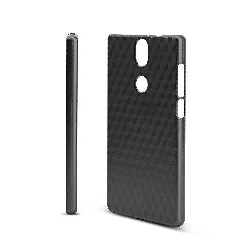 KuGi Umidigi Umi Crystal Hülle, Hochwertiger ultradünne Frosted [Stoßfest][Anti-Scratch][Schlank Passen][Anti - Wrestling] PC Schutzhülle Hülle für Umidigi Umi Crystal Smartphone.Schwarz
