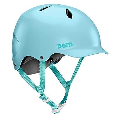 Bern Girl Bandito Bike Helmet, Satin Light Blue, Small from Bern