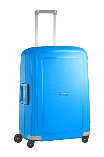 Samsonite 49307/1652 Valise S'cure Spinner 69/25, 69 cm, 79 L, Pacific Bleu